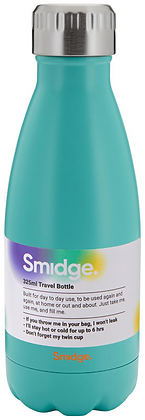 Smidge 325ml Insulated Bottle- Aqua