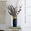 Thumbnail: Bloomingville Blue Metal Vase