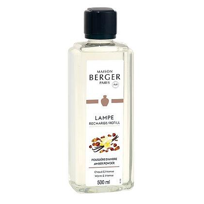 Maison Berger Amber Powder Fragrance Lamp Refill 500ml