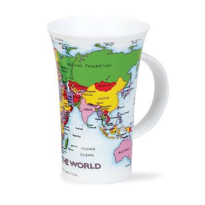 Dunoon Glencoe Mug -Map of the World