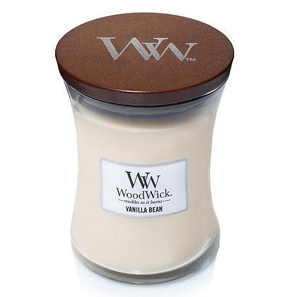 Woodwick Medium Candle - Vanilla Bean