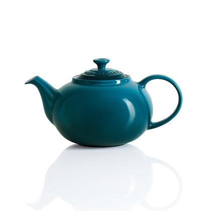 Le Creuset Stoneware Classic Teapot - Deep Teal
