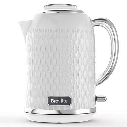 Breville Curve 1.7L Kettle - White & Chrome