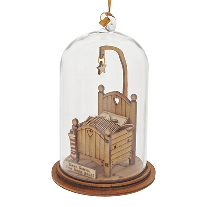 Kloche Hanging Ornament - The Night Before Christmas