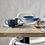 Thumbnail: Denby Studio Blue Pasta Bowls set x4