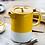 Thumbnail: La Cafetière Barcelona 6 Cup Ceramic Cafetiere - Mustard