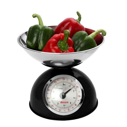 Dexam Retro Kitchen Scales - Black