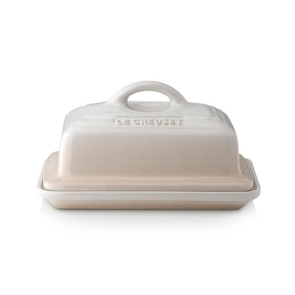 Le Creuset Stoneware Classic Butter Dish - Meringue