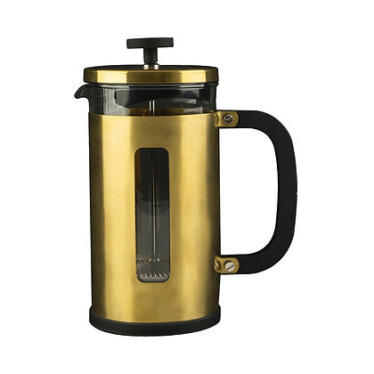La Cafetiere Edited Pisa 8 Cup Cafetiere - Brushed Gold