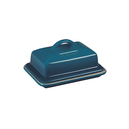 Le Creuset Stoneware Classic Butter Dish - Deep Teal