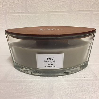 Woodwick Ellipse Candle - Fireside