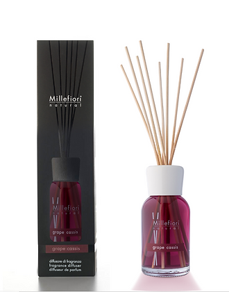 Millefiori Milano Natural 250ml Diffuser - Grape Cassis