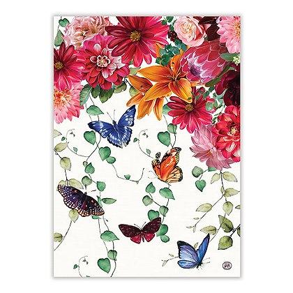 Michel Designs Kitchen Towel - Sweet Floral Melody