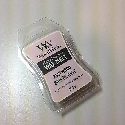 Woodwick Mini Wax Melt - Rosewood
