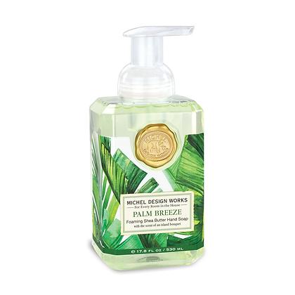 Michel Designs Foaming Hand Soap - Palm Breeze
