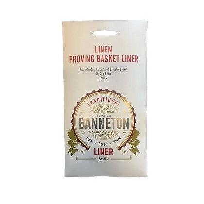 Eddingtons Banneton Liner 25x8cm Pack of 2
