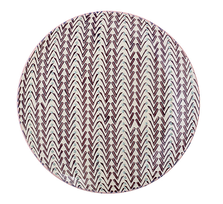 Bloomingville Maya 22cm Plate - Purple