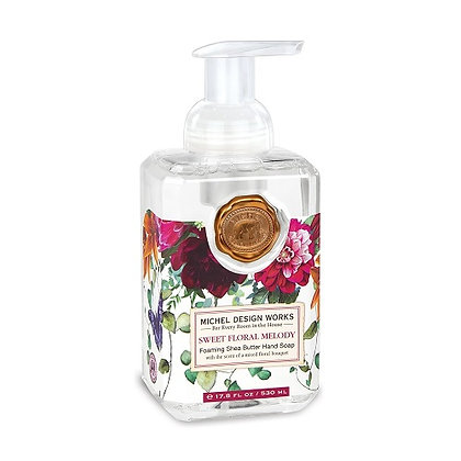 Michel Designs Foaming Hand Soap - Sweet Floral Melody