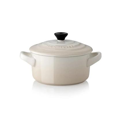 Le Creuset Stoneware Petite Casserole - Meringue