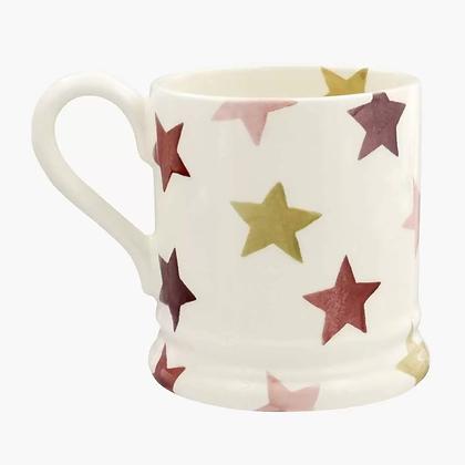 Emma Bridgewater Pink and Gold Star Half Pint Mug