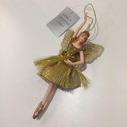 Gisela Graham Decoration - Gold Fairy Princess