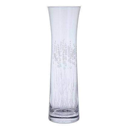 Dartington Crystal Bloom Lavender Tall Vase