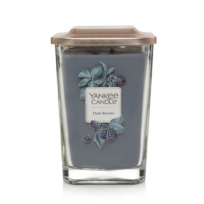 Yankee Candle Elevation 2 Wick Candle - Dark Berries