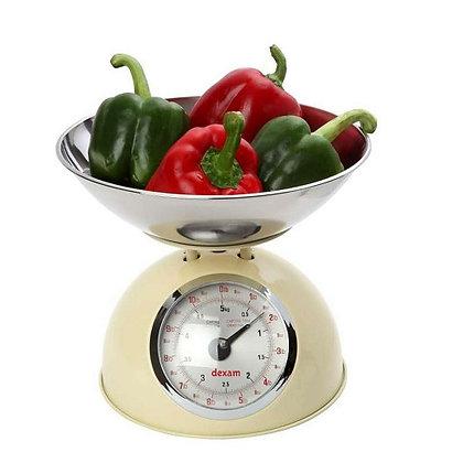 Dexam Retro Kitchen Scales - Cream
