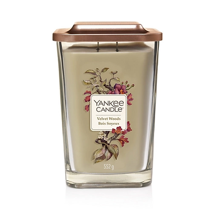 Yankee Candle Elevation 2 Wick Candle - Velvet Woods