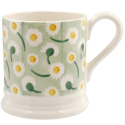 Emma Bridgewater Daisy Light Green Half Pint Mug