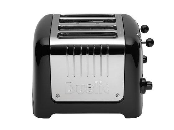Dualit Lite 4 Slice Toaster- Black