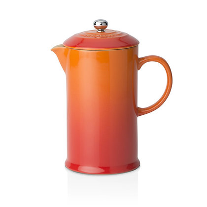 Le Creuset Stoneware Coffee Pot and Press - Flame