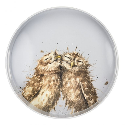 Pimpernel Wrendale Designs Round Tray - Owl