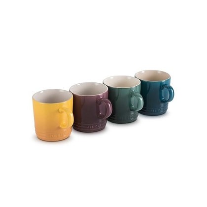 Le Creuset Stoneware Botanique Set of 4 Mugs