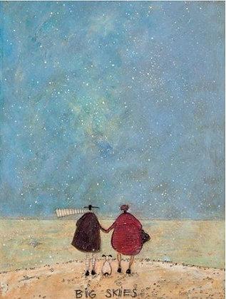 Canvas Art - Sam Toft 'Big Skies'