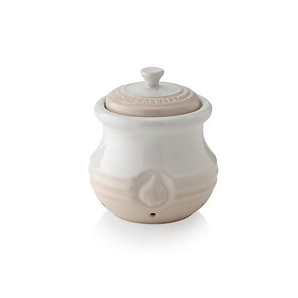 Le Creuset Stoneware Garlic Keeper - Meringue