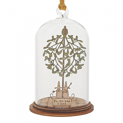 Kloche Hanging Ornament - The One I Love at Christmas
