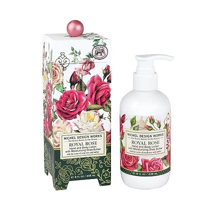 Michel Designs Hand and Body Lotion - Royal Rose