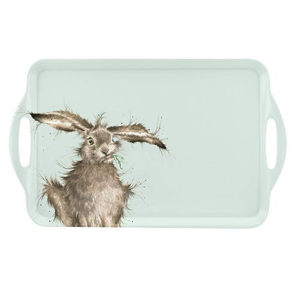Pimpernel Wrendale Designs Large Handled Tray - Hare