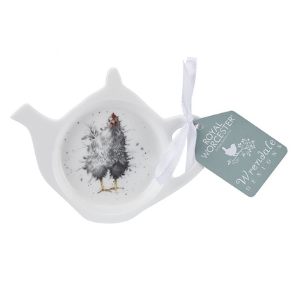 Royal Worcester Wrendale Teabag Tidy - Hen
