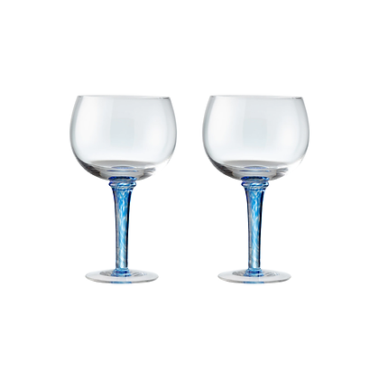 Denby Imperial Blue Gin Glasses Set of 2