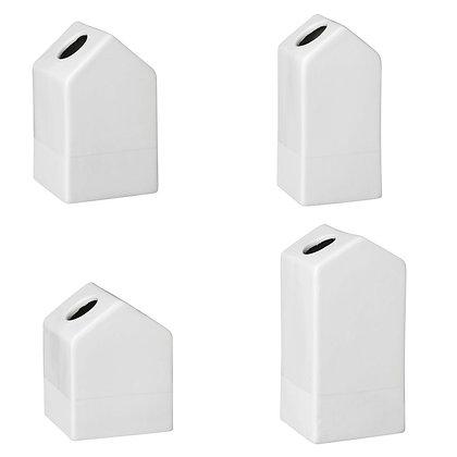 House Mini Vases set of Four