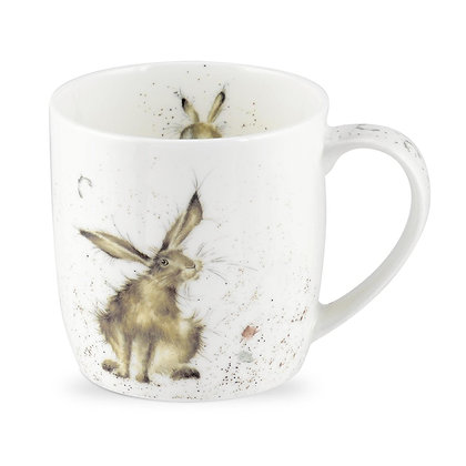 Royal Worcester Wrendale 'Good Hare Day' Fine Bone China Mug