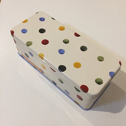 "Elite Tins Emma Bridgewater ""Polka Dot"" Cracker Tin"