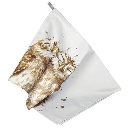Pimpernel Wrendale Designs Tea Towel - Owl