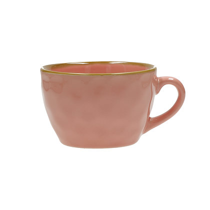 Concerto Rose Pink Breakfast Mug