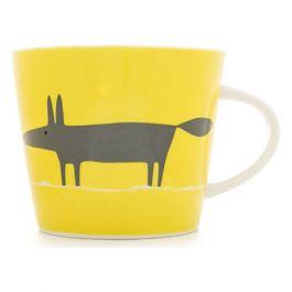 Scion Living Mr Fox Mug - Yellow