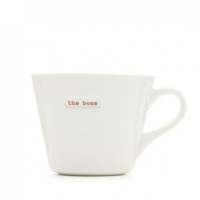 Keith Brymer Jones Word Mug - The Boss