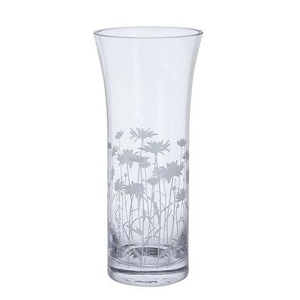 Dartington Crystal Bloom Marguerite Trumpet Vase