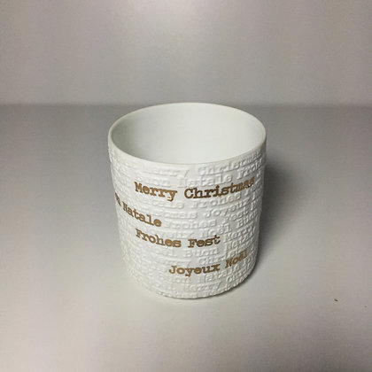 Rader Merry Christmas Tea Light Holder